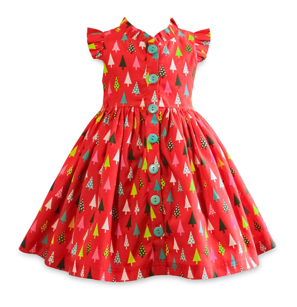 "Girls Dress - Be Merry Glen Park Dress  ""Pre Sale"""