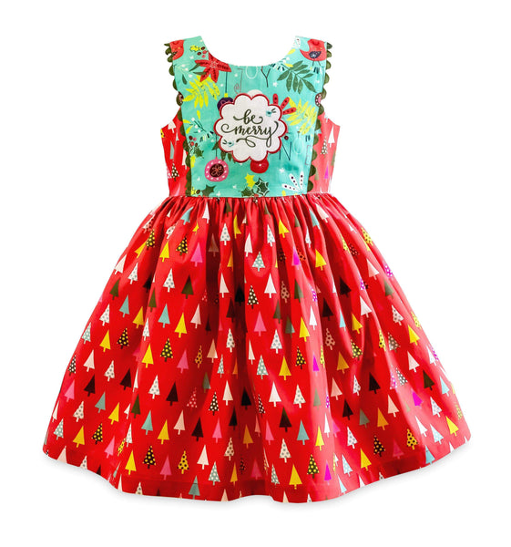 "Girls Dress - Be Merry Larkin St. Dress - ""Pre-Sale"""