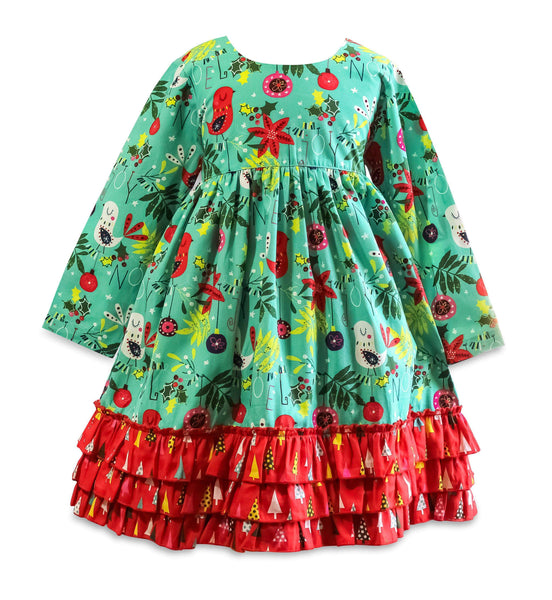 Be Merry Picture Day Dress - Little Miss Marmalade