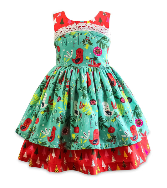 "Girls Dress - Be Merry Wilder Dress ""Pre-Sale"""