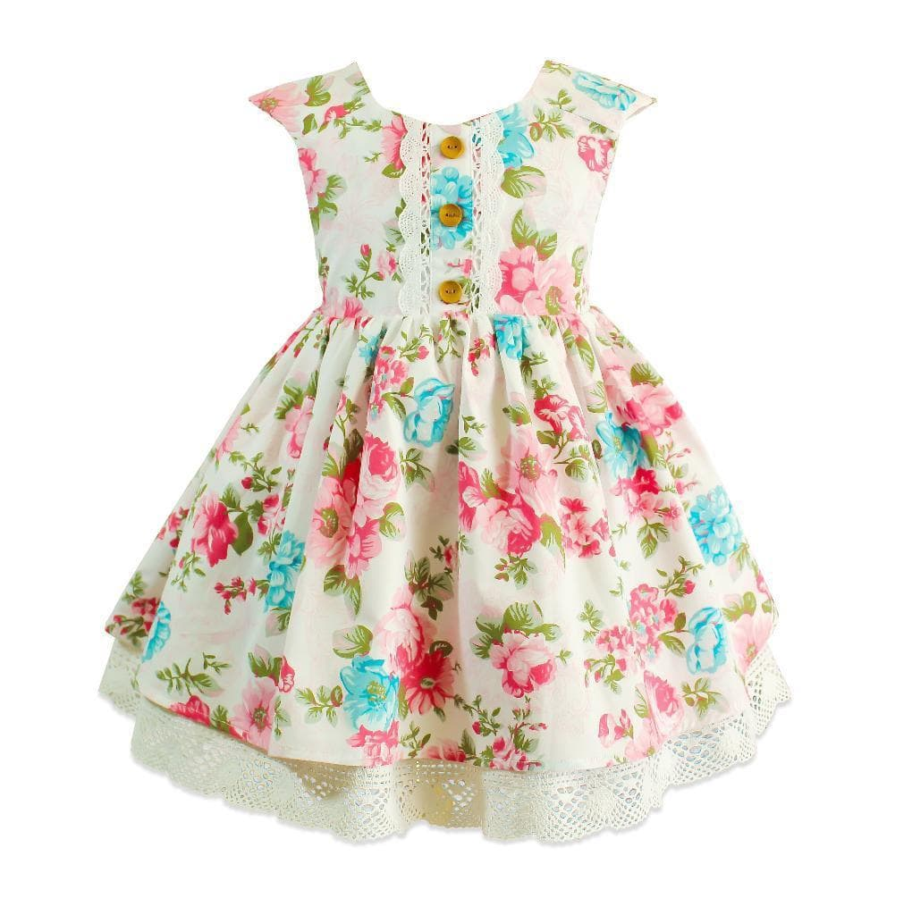 Beatrice Cottage Rose Dress - Little Miss Marmalade