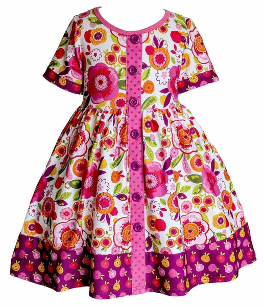 Bella Parkside Dress - Little Miss Marmalade