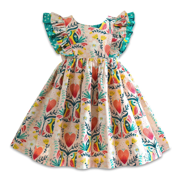 Blue Bird Minnie Pinnie Dress