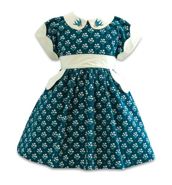 Blue Bird Polk Street Dress