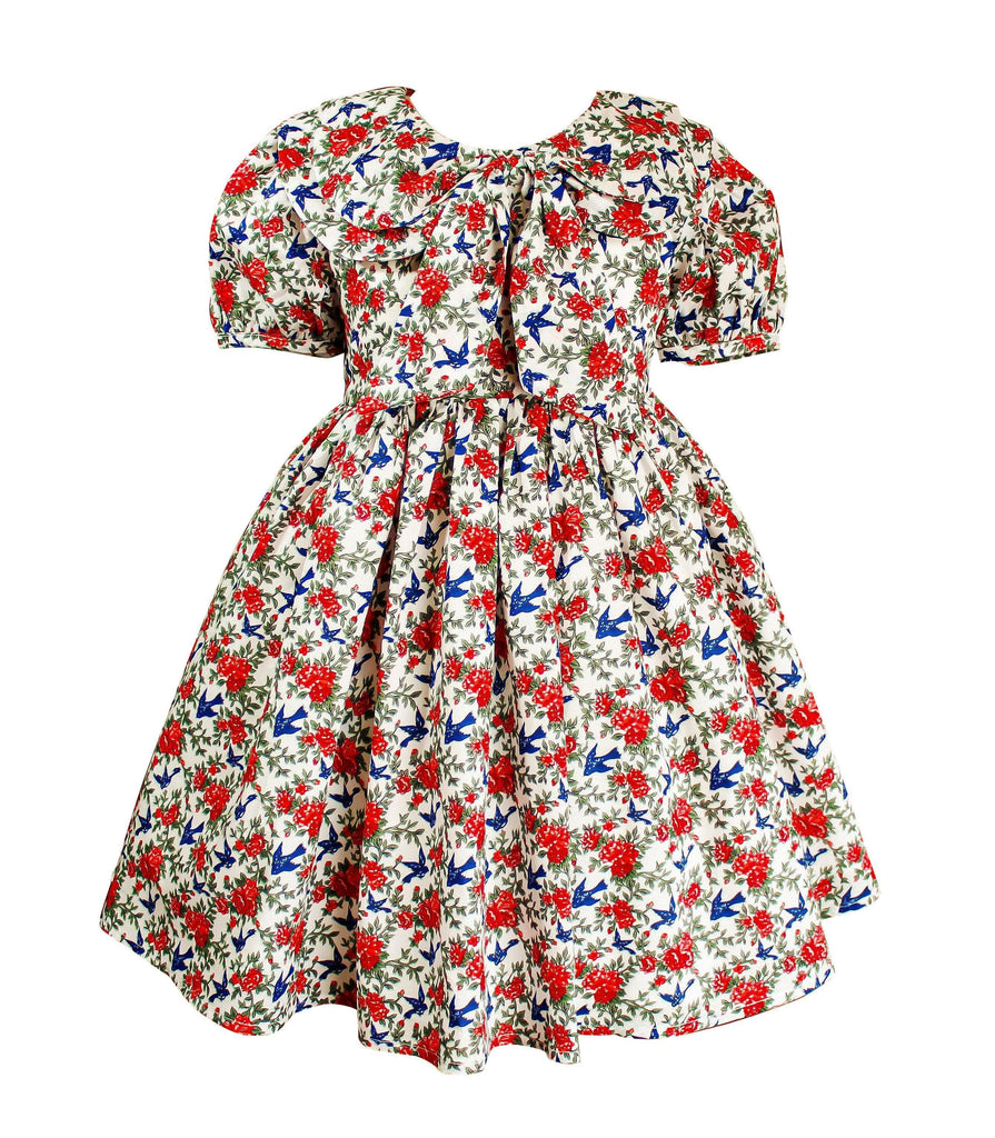 Chestnut Street Fall Sparrow Dress - Little Miss Marmalade