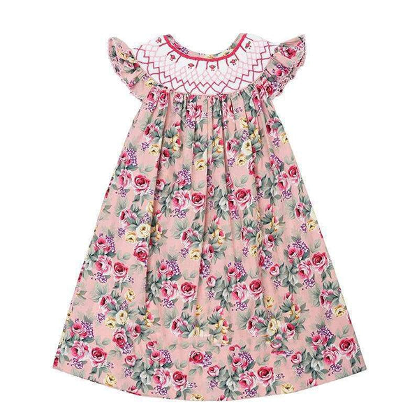 Easter Antique Rose Dress - Little Miss Marmalade