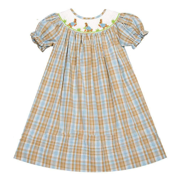 Easter Bunny Smocked Dress - Little Miss Marmalade