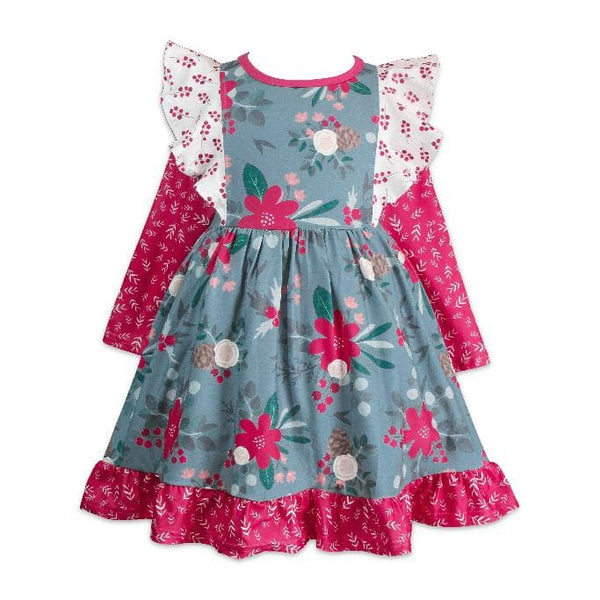 Farm House Dilly Holiday Dress - Little Miss Marmalade