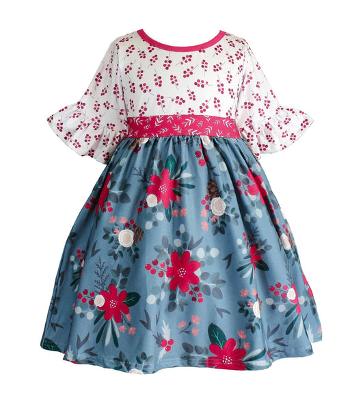 Farm House Holiday Millie Dress - Little Miss Marmalade