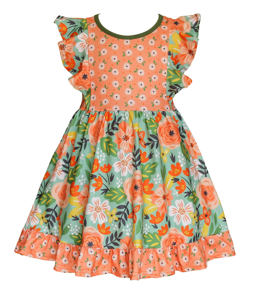 Flower Bed Dilly Dress - Little Miss Marmalade