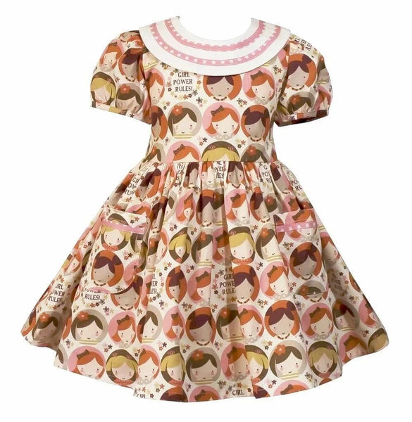 Girl Power Lottie Dress - Little Miss Marmalade
