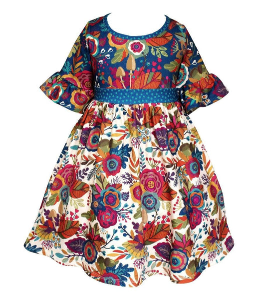 "Girls Dress - ""Give Thanks"" Fall Millie Dress"