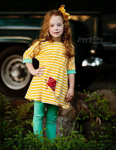 Girls Dress - Go Fly A Kite Noe Valley Knit Kite Dress
