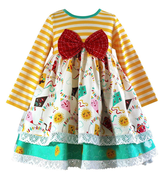 Go Fly a Kite Presidio  Tunic Dress - Little Miss Marmalade