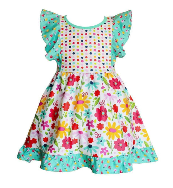 Happy Dilly Dress - Little Miss Marmalade