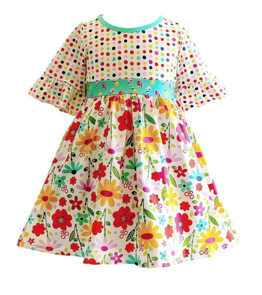 Girls Dress - Happy Millie Dress