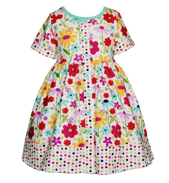 Girls Dress - Happy Parkside Dress