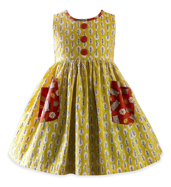 girls retro dress