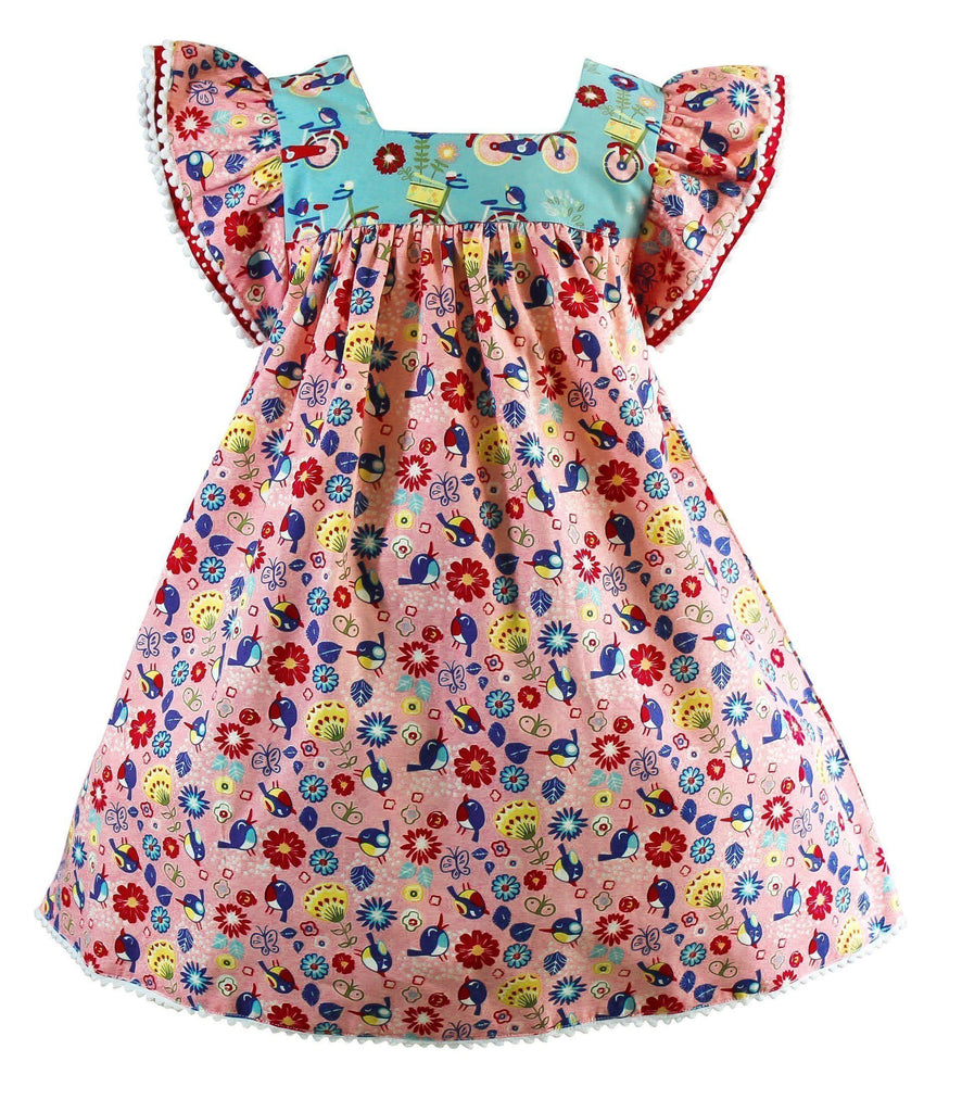 Girls Dress - Joy Ride Happy Dress