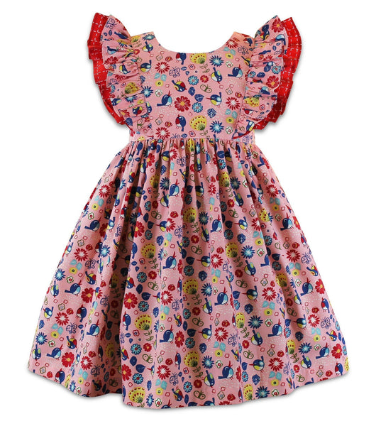 Girls Dress - Joy Ride Minnie Pinnie Dress