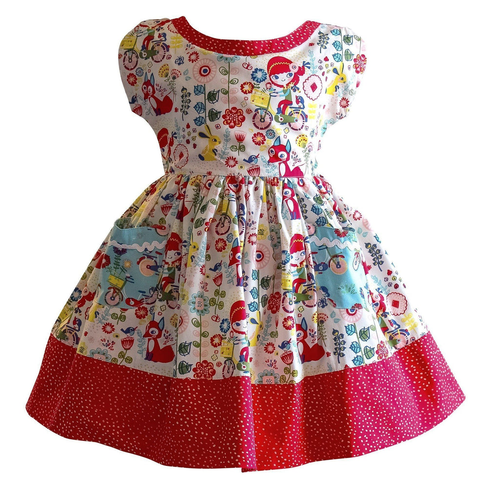 Joy Ride New Picnic Dress - Little Miss Marmalade