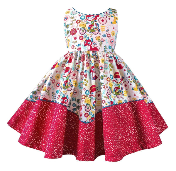 Girls Dress - Joy Ride Retro Dolores Park Dress