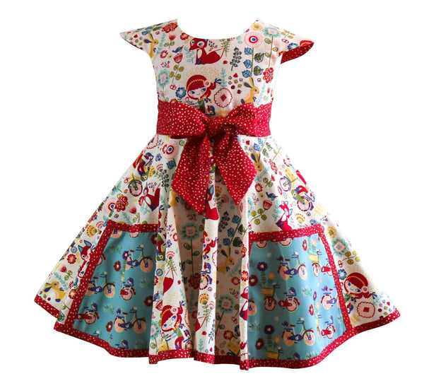 Joy Ride Vintage Market Street Dress - Little Miss Marmalade