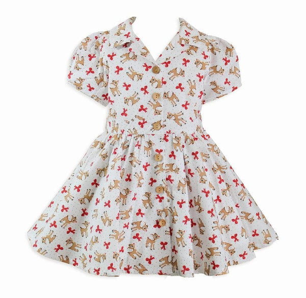 Kawaii Kitsch Lil' Deer Dress - Little Miss Marmalade