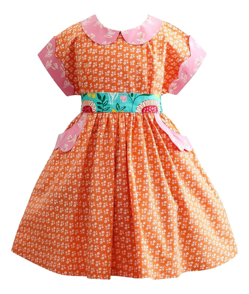 LillyBelle 1950's Vintage Polk Street Dress - Little Miss Marmalade