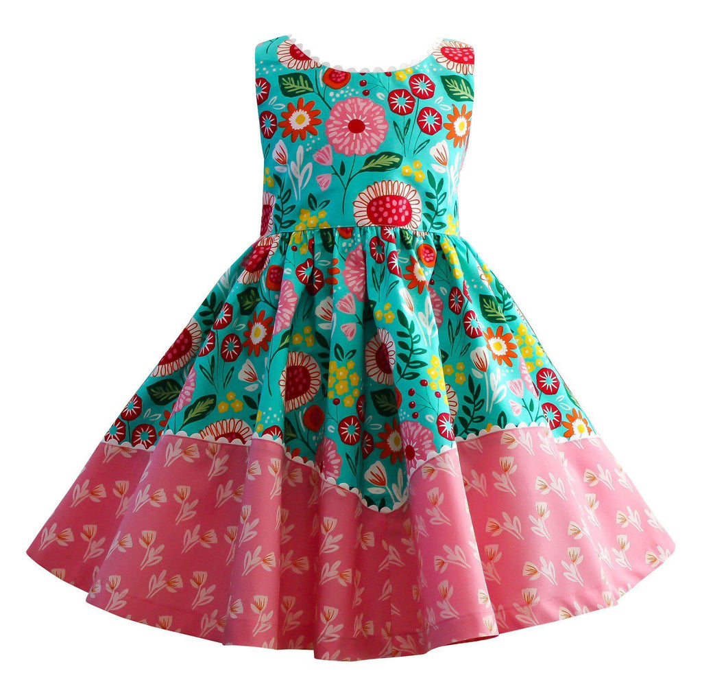 Girls Dress - LillyBelle Dolores Park Dress