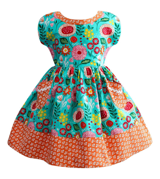 LillyBelle Picnic Dress - Little Miss Marmalade