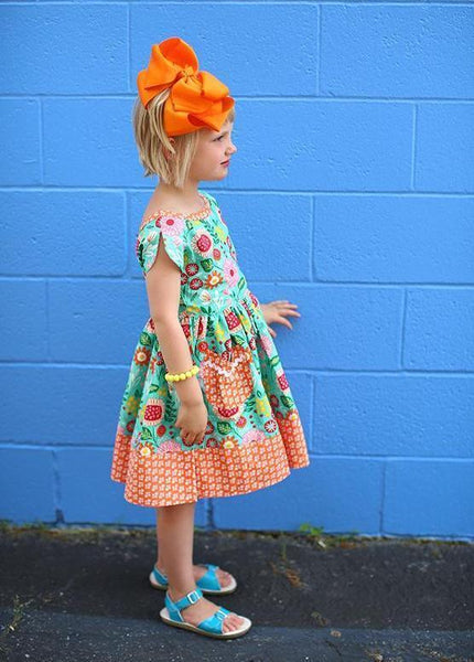 Girls Dress - LillyBelle Picnic Dress