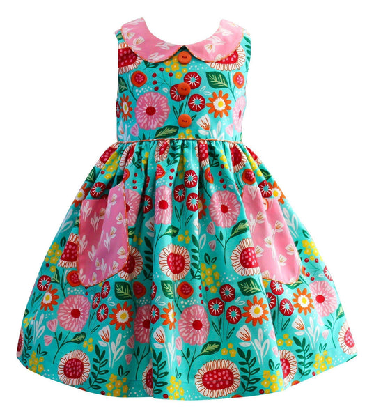 Girls Dress - LillyBelle Poppy Lane Dress