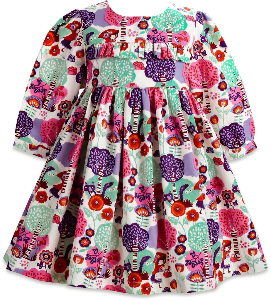 Little Red Riding Hood Hyde Street Dress - Little Miss Marmalade