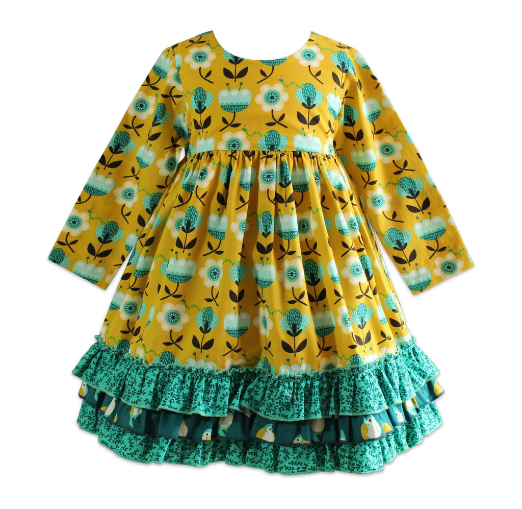 Meadow Picture Day Dress - Little Miss Marmalade