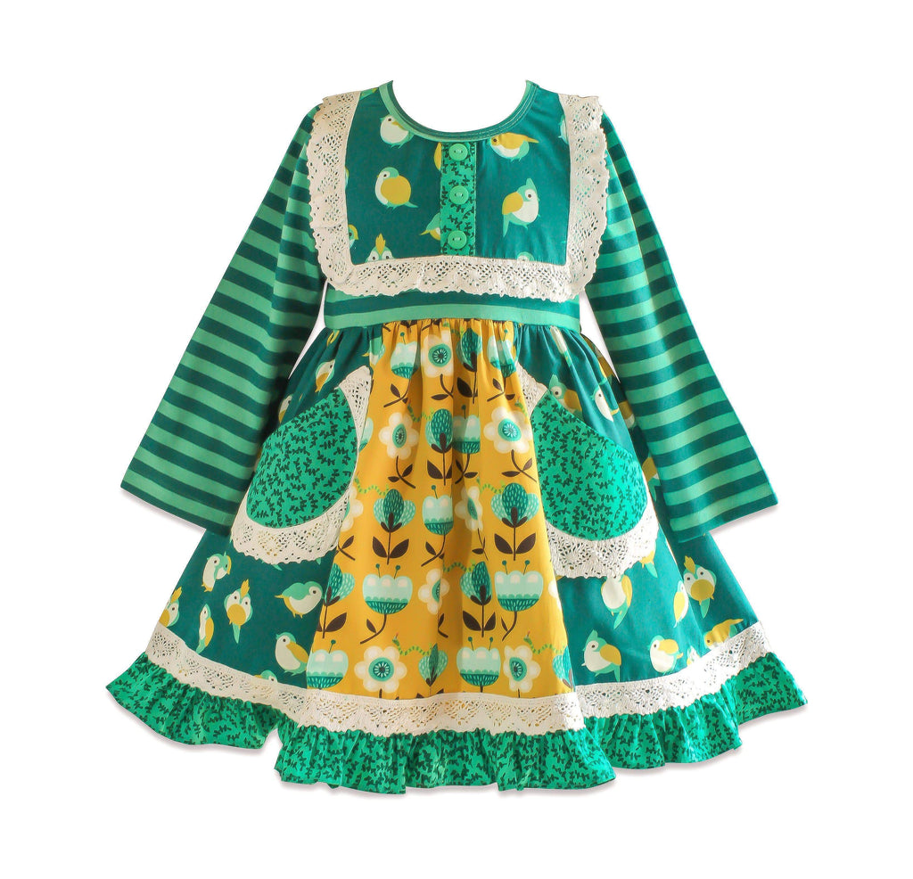 Meadow Scrapbook Dress - Little Miss Marmalade