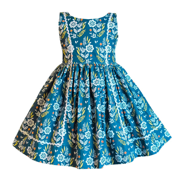 Modern Bloom Bailey Retro Dress - Little Miss Marmalade