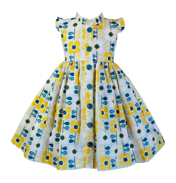 Modern Bloom Glen Park Dress - Little Miss Marmalade
