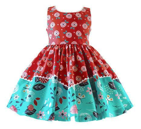 Girls Dress - Moxie Dolores Park Vintage Dress