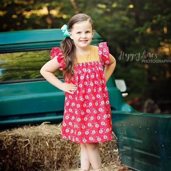 Girls Dress - Moxie Happy Dress