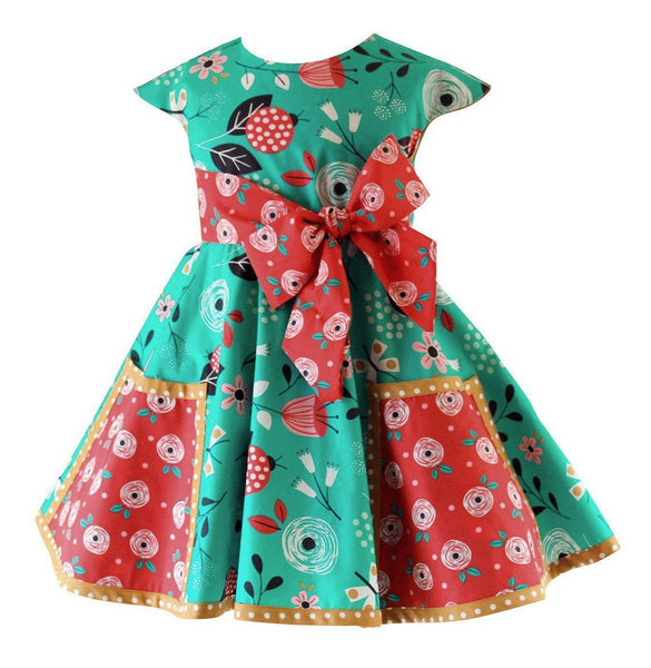 Girls Dress - Moxie Market Street Vintage Dress