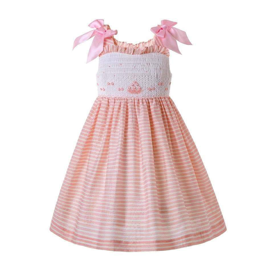 Ruth Anne Smocked Spring Dress - Little Miss Marmalade