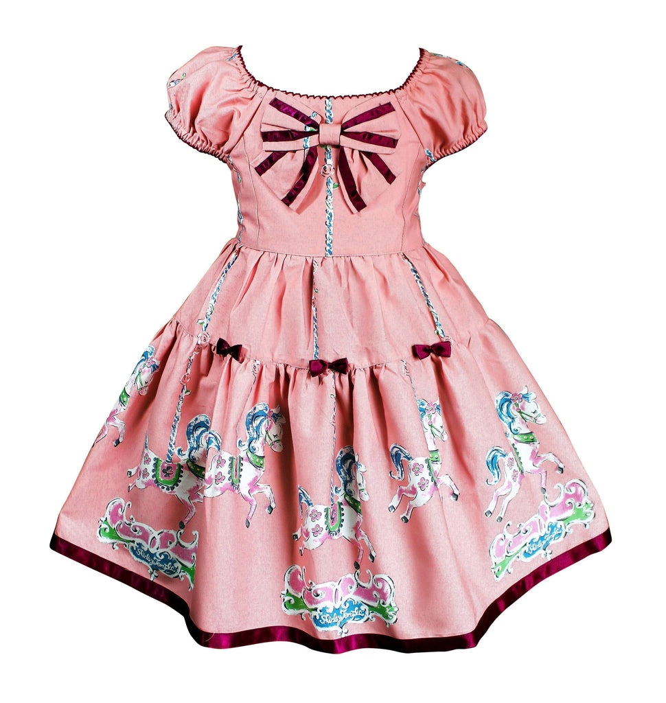 Shirley Temple Carousel Dress - Little Miss Marmalade