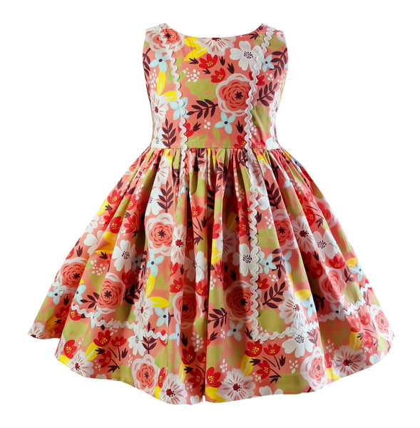Swan Lake Vintage Bailey Dress - Little Miss Marmalade