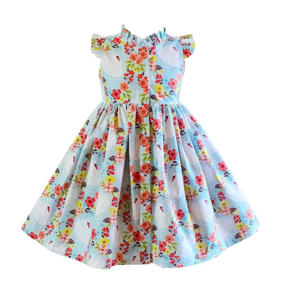 Swan Lake Vintage Glen Park Dress - Little Miss Marmalade