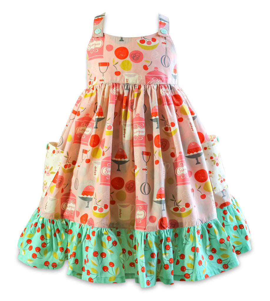 The Little BakeShop Marga Sun Dress - Little Miss Marmalade