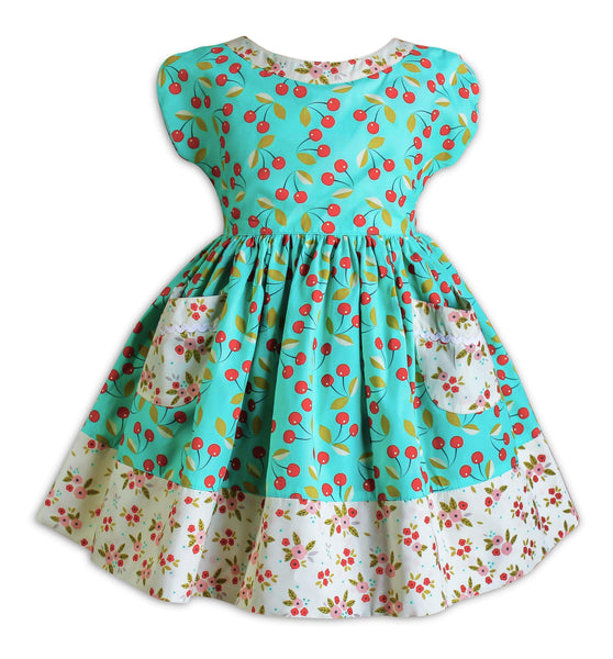 The Little BakeShop Retro Picnic Dress - Little Miss Marmalade