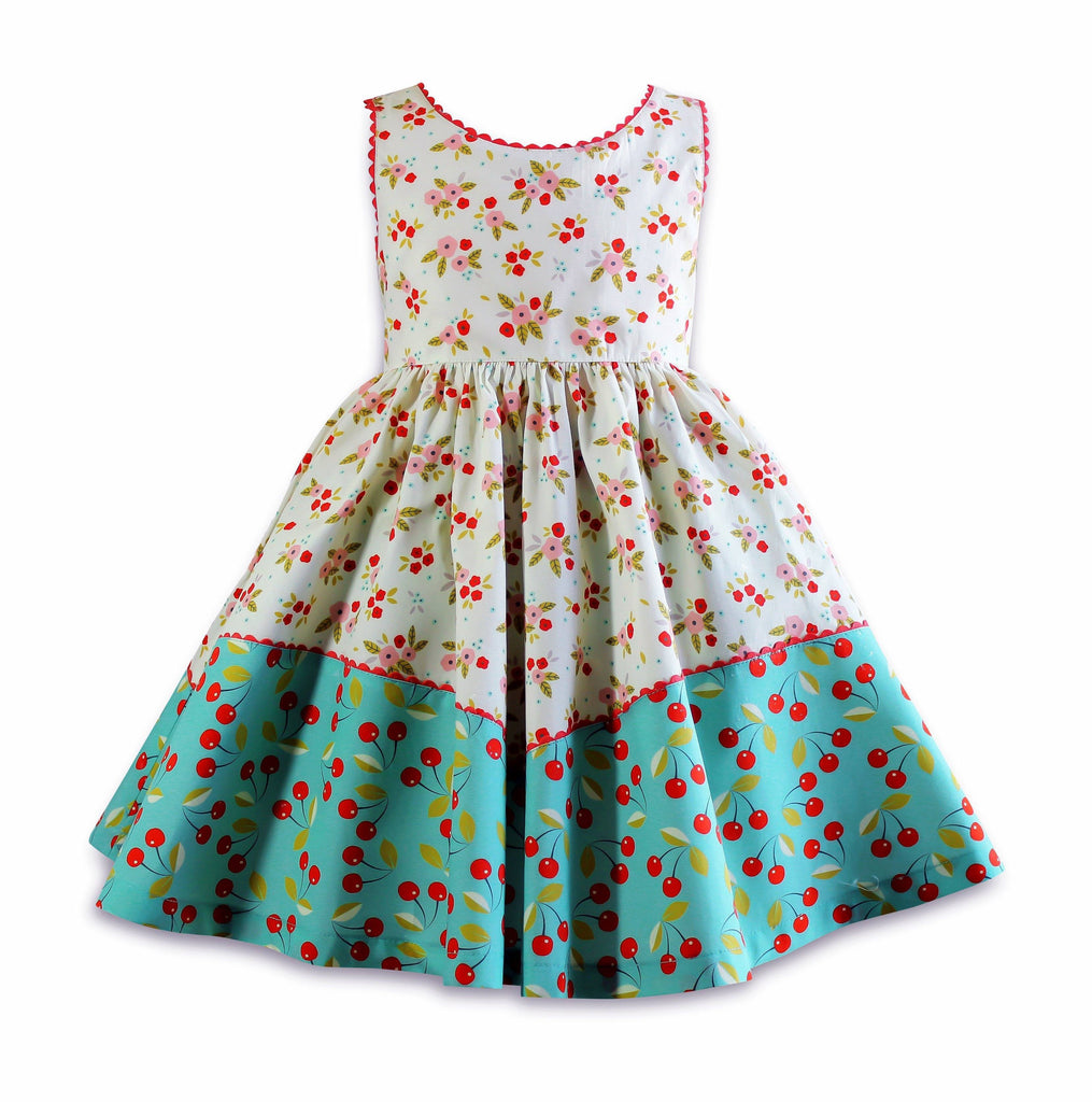 The Little BakeShop Twirly Dolores Park Dress - Little Miss Marmalade