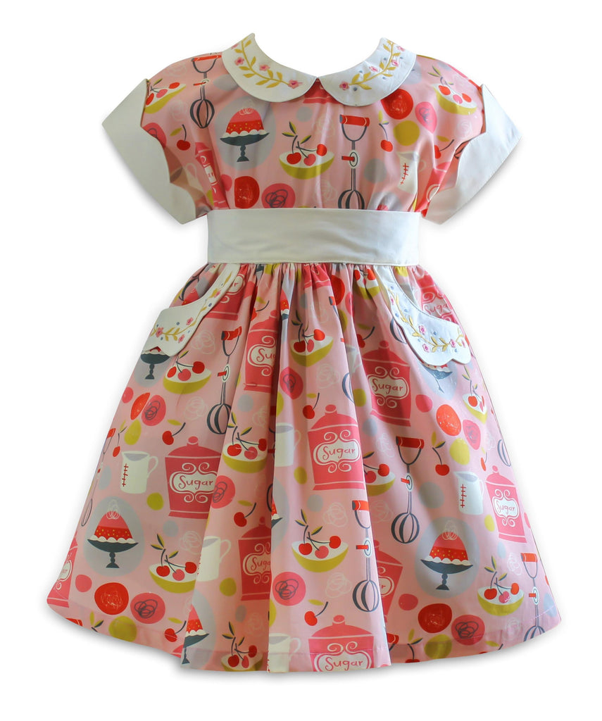 The Little BakeShop Vintage Polk Street Dress - Little Miss Marmalade