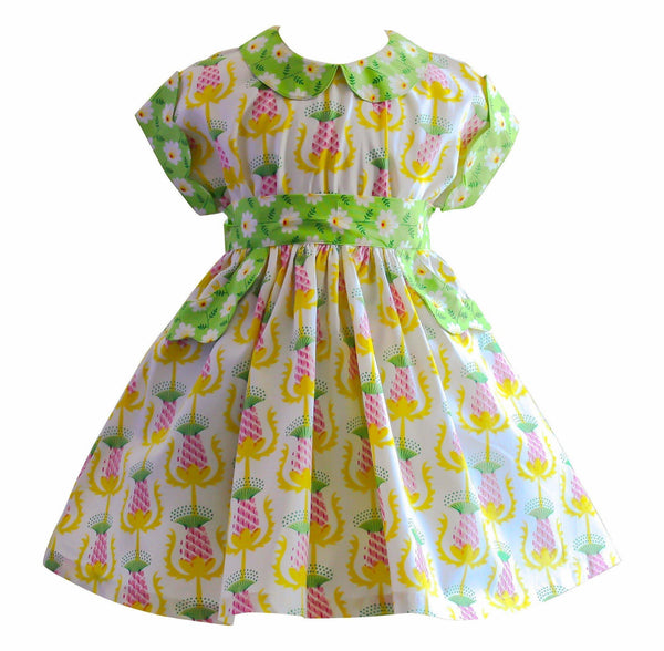 Girls Dress - Unicornland 1950's Polk Street Dress